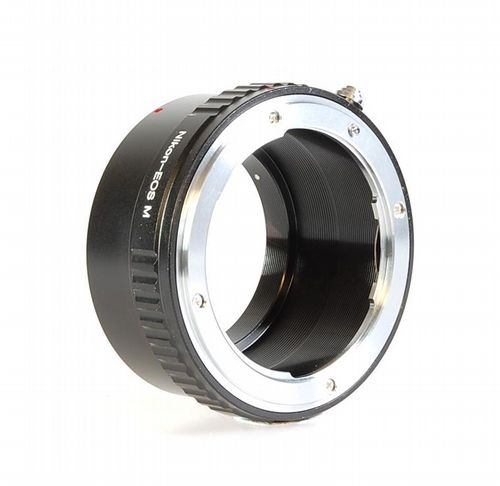 Nikon Lens to EOS-M Adaptor - Nikon Lens to Canon EOS-M Camera Adaptor